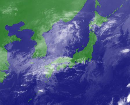201110291600 赤外衛星画像