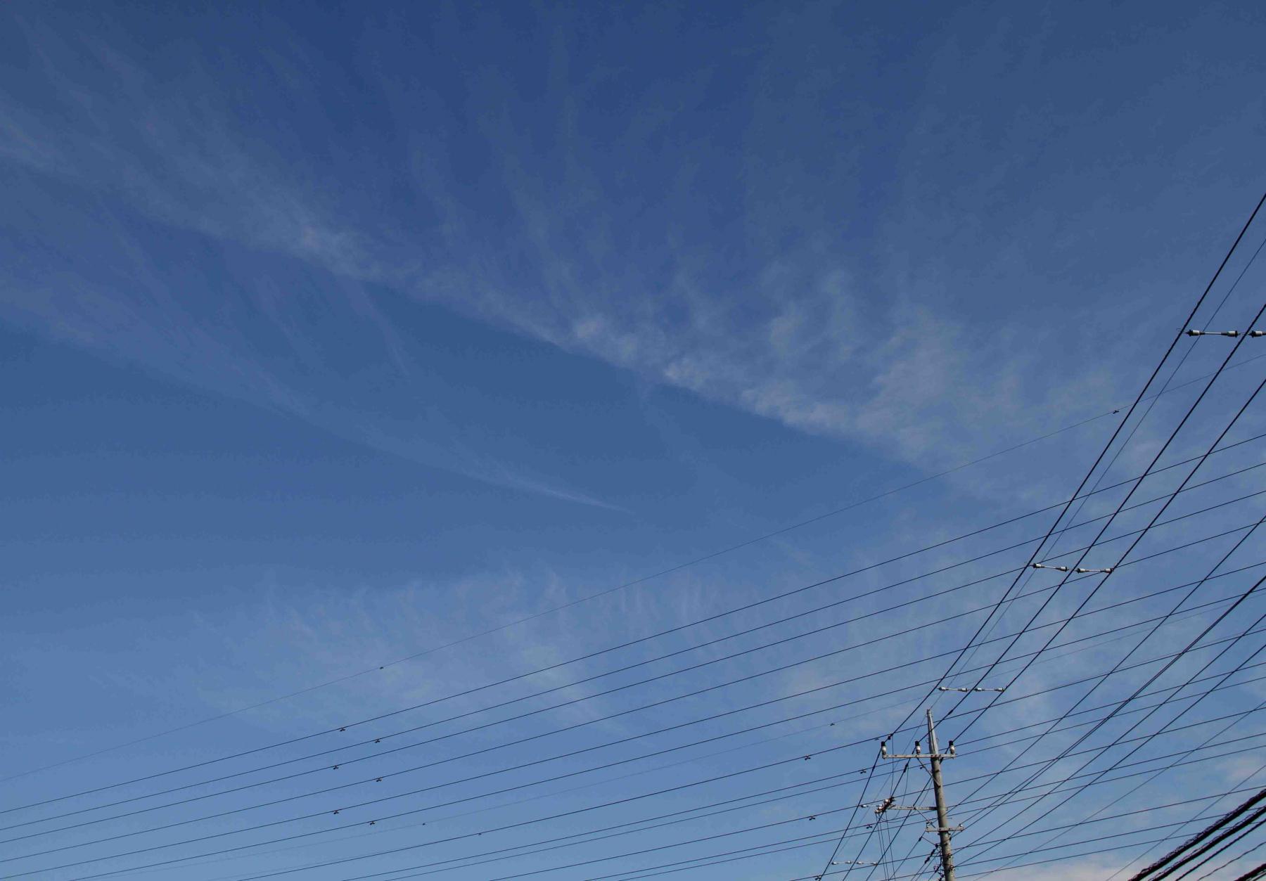 11月26日 東京の空(11時17分)