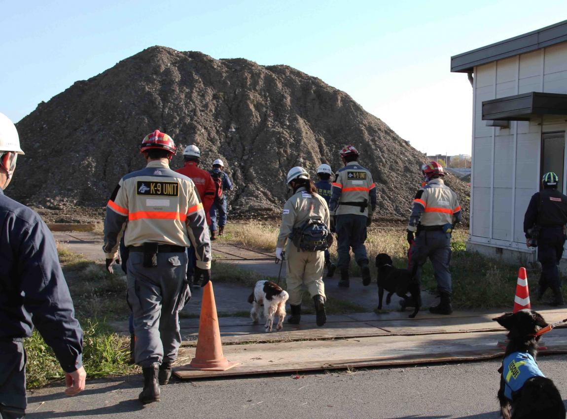 総合震災消防訓練(10)