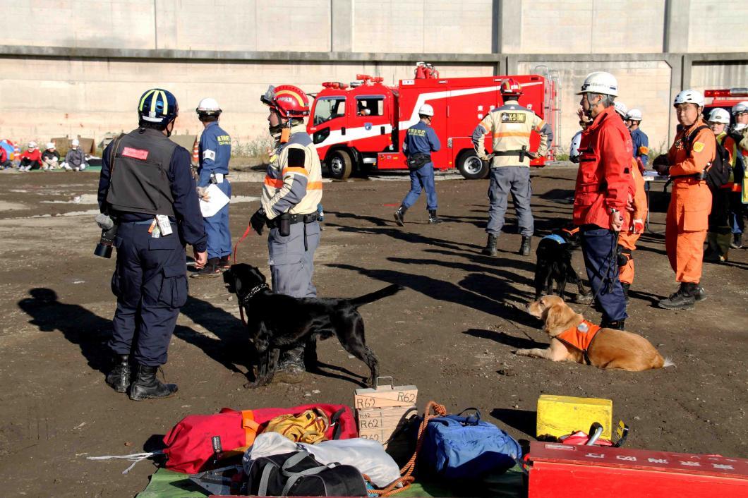 総合震災消防訓練(24)