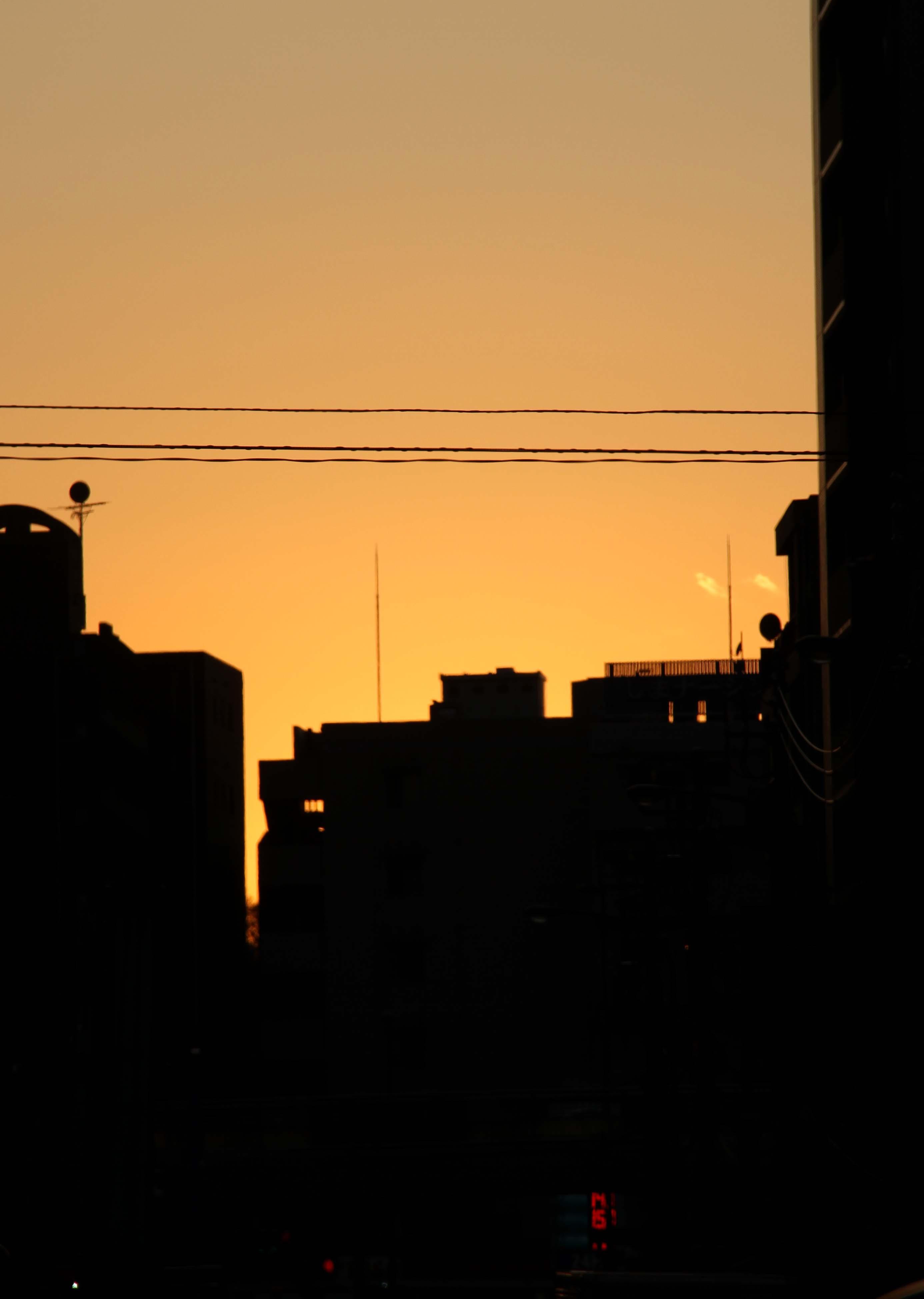 11月26日の東京の空(16時09分)