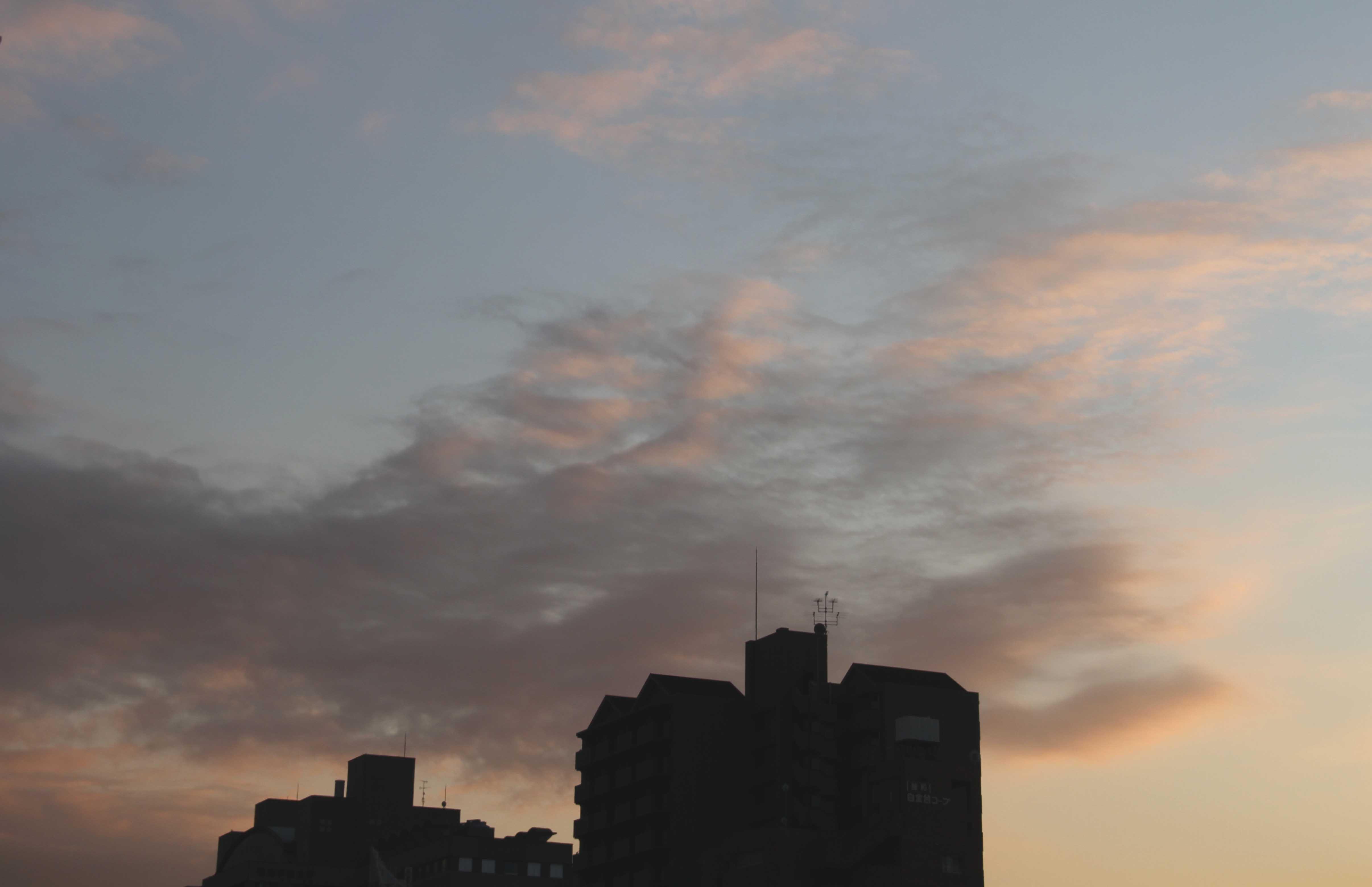 11月26日の東京の空(16時12分)