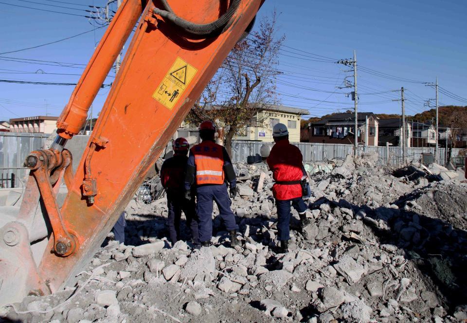 12月4日 瓦礫捜索訓練(3)