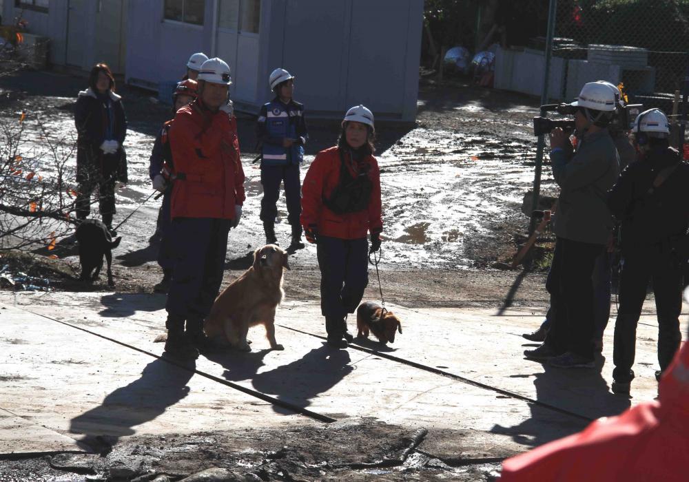 12月4日 瓦礫捜索訓練 GRMとMDS(1)
