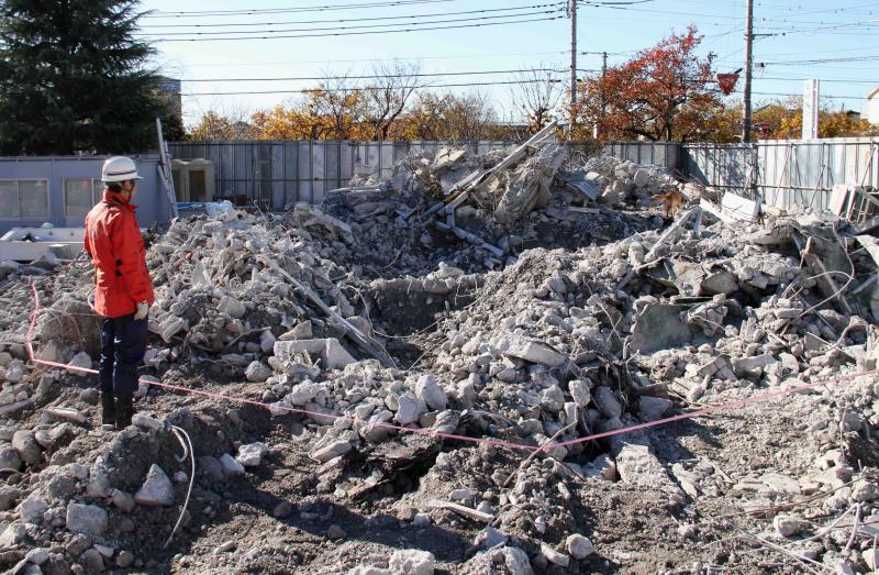 12月4日 瓦礫捜索訓練 GRMとMDS(2)