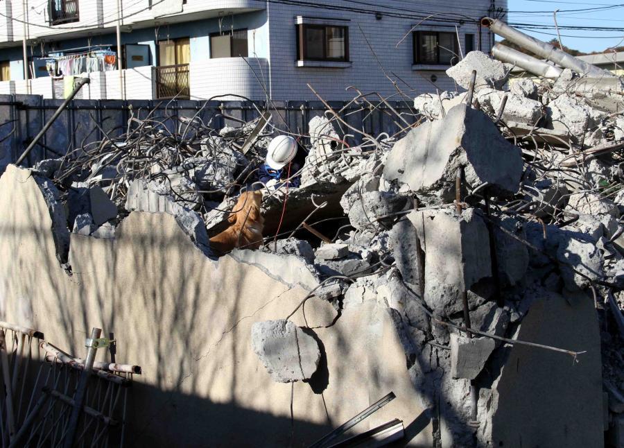 12月4日 瓦礫捜索訓練 ヒット(32)