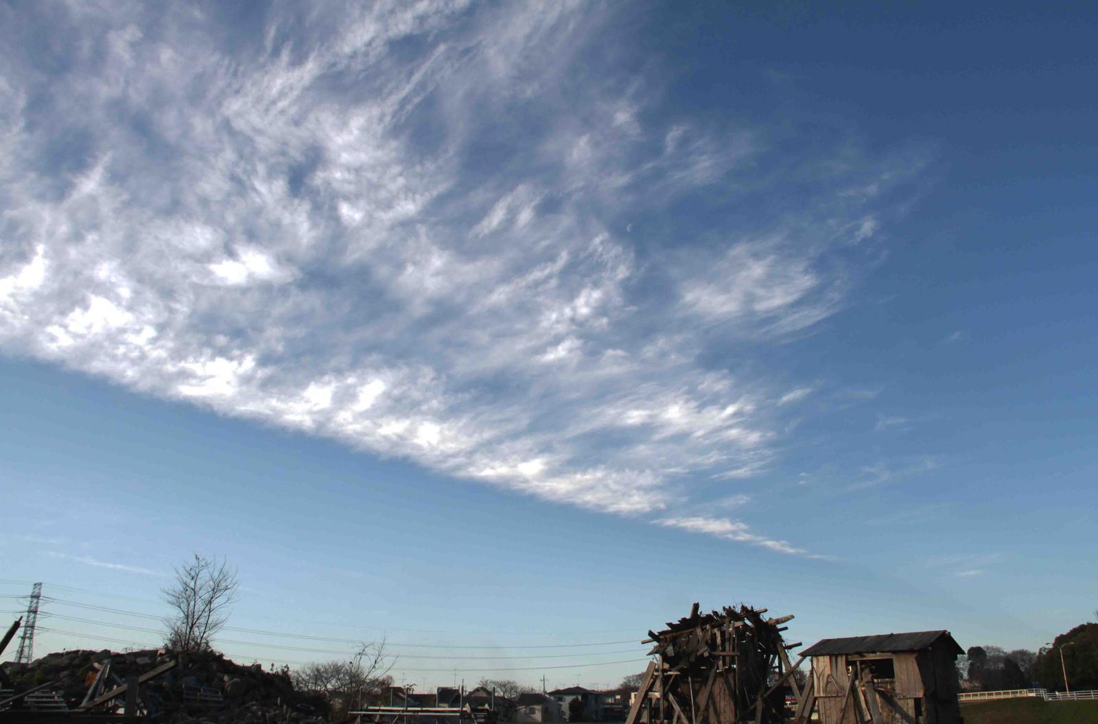 12月18日の空(1) 8時42分 IMG_6237
