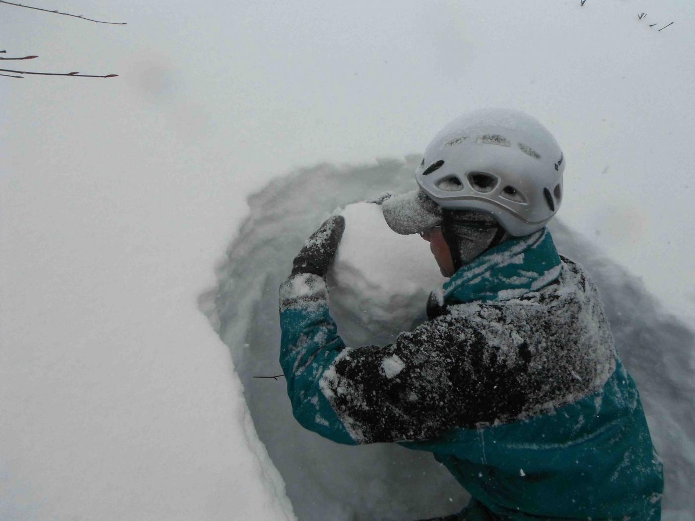 雪中訓練(7)