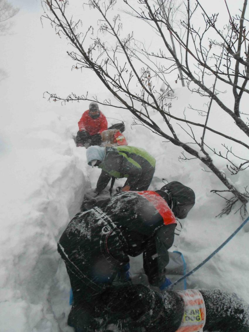 雪中訓練(10)