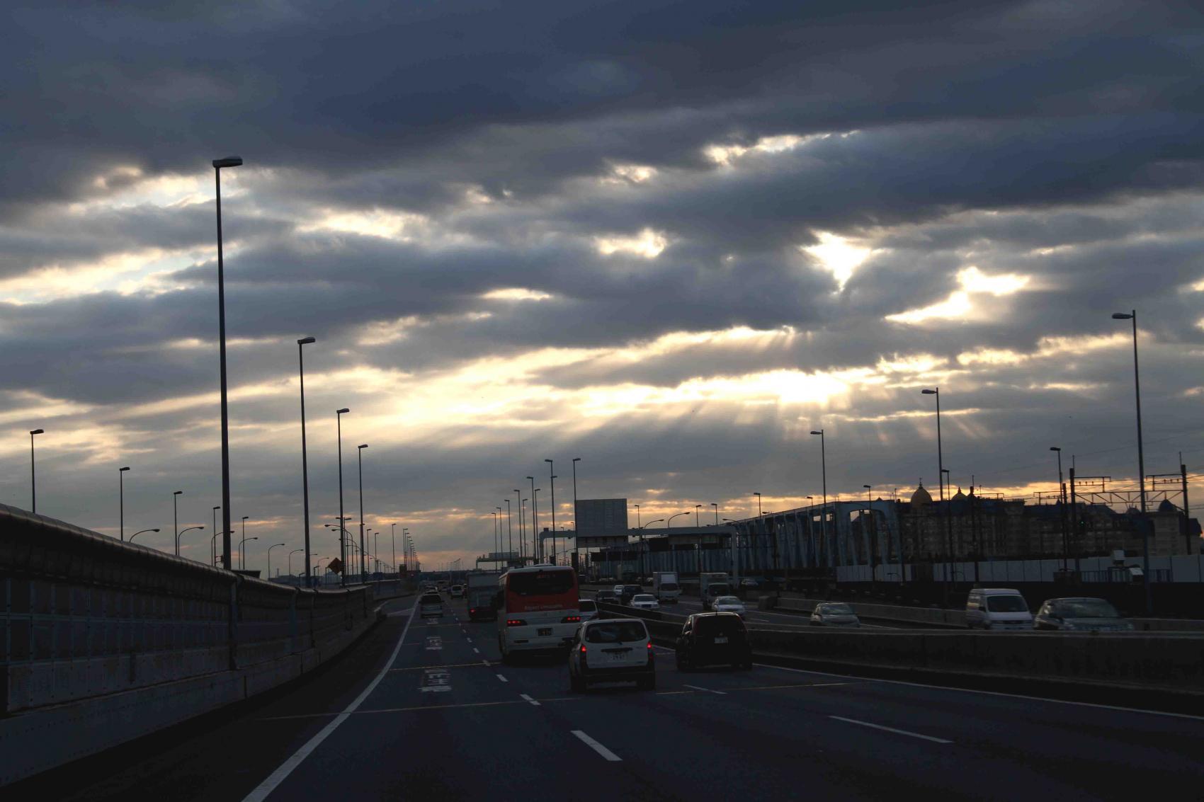 2012年01月08日朝方の空(2)