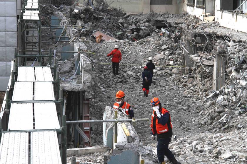 1月15日瓦礫訓練(3)