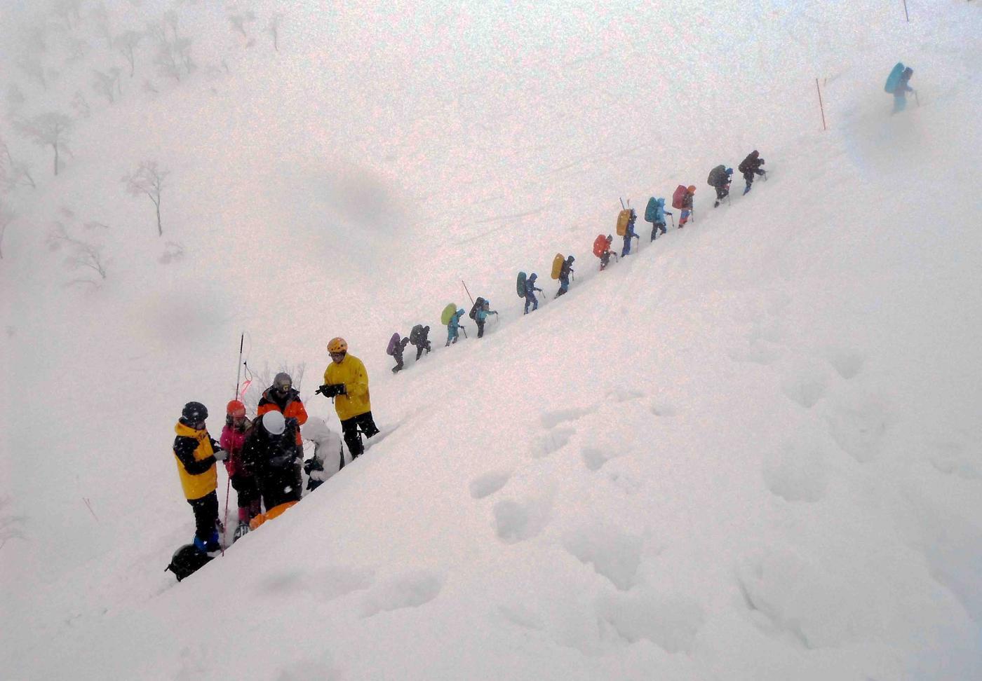 関東雪崩講習会(9)