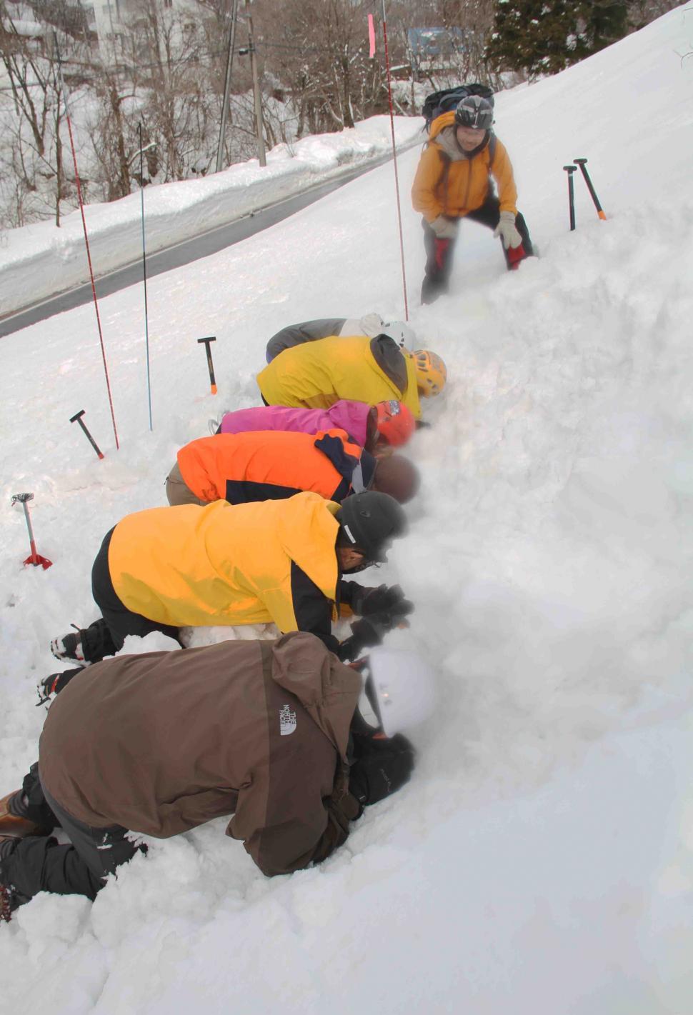 関東雪崩講習会(27)