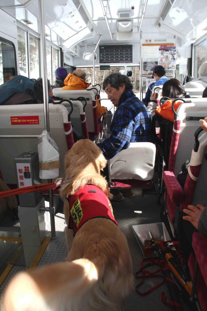 0212 下山(8) バス乗車
