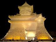 犬山城(雪像)
