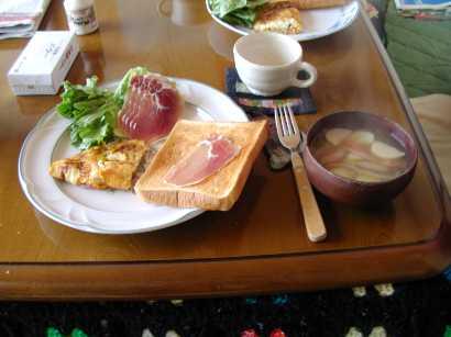 大晦日の朝食