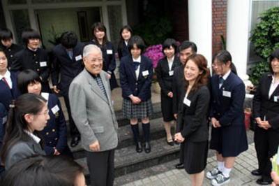 李登輝前総統 平成18年(2006)3月
