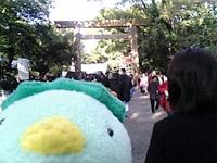 熱田神宮にて