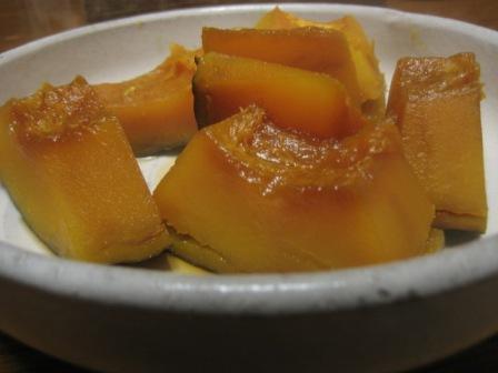 08 01 21 かぼちゃの煮物