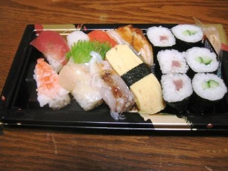 080130 惣菜 お寿司