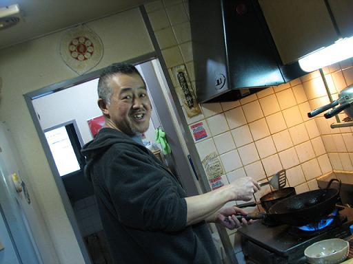 厨房猫旦那