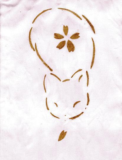 春染め猫(桜)004