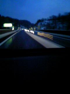 2011年11月18日午後4時過ぎ 真冬の夜道状態・・・