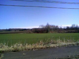 どこまでも続く広大な農地!(写真じゃ伝わりきらないでしょうが・・・;)