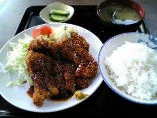 山田ホームレストラン チキンカツ03