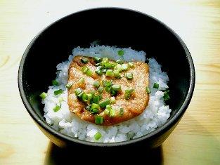 京都 権太呂の揚げできつね丼002