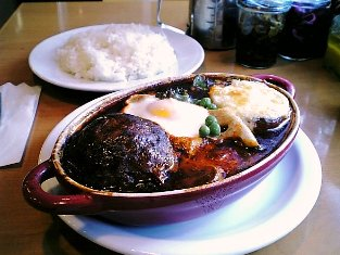 kikuya ハンバーグとジャガイモのシチュー005