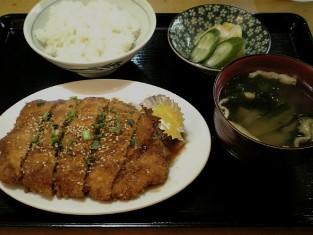上野昭和通り食堂 チキンカツ007