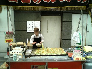 横浜橋 九十ベーカリー 屋台のお好み焼007