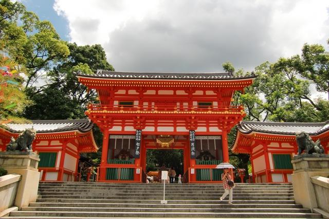 八坂神社正面