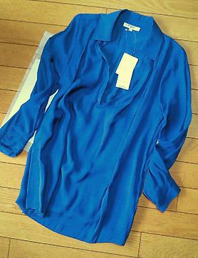 NBBで見つけたプルオーバーシャツ。色が気に入りました。