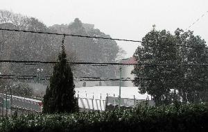 ブログ雪の日
