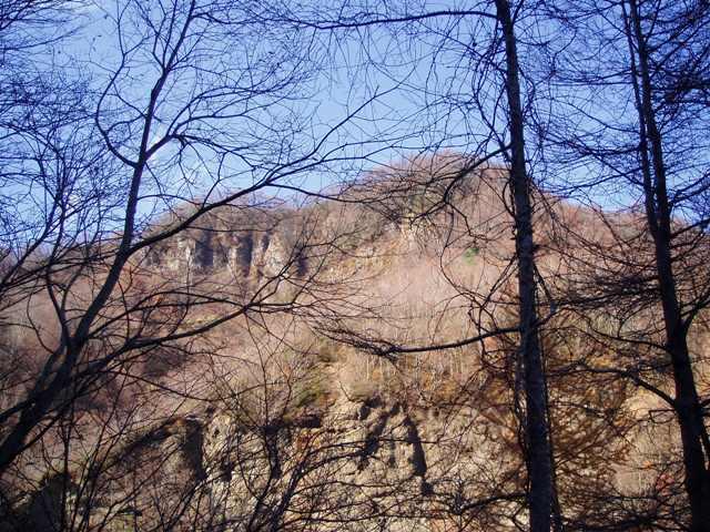 南面の岩場