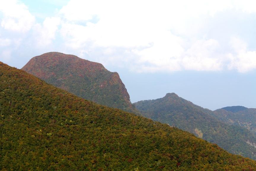 仙台神室と風の堂山