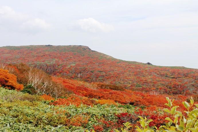 東栗駒山方面