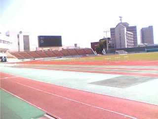 陸上競技場