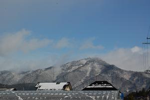 昼の比叡山