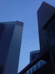 1-1汐留ビル街