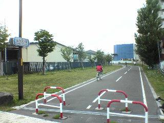 白石サイクリングロード入り口