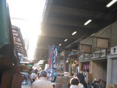 築地市場内