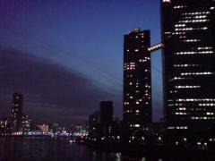 4-3佃橋から見た隅田川