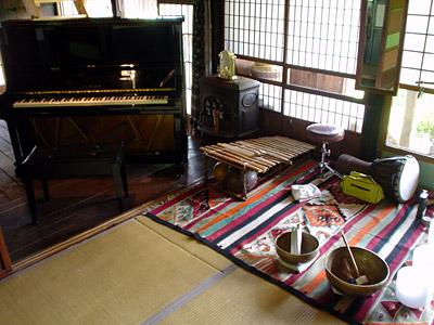 ピアノとパーカッション