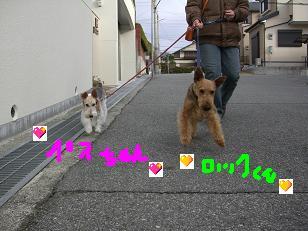 ロックくん&ペスちゃん