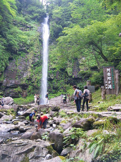阿弥陀ヶ滝20117月3日