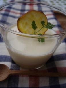 さつま芋のパンナコッタ