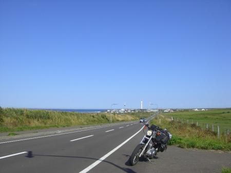 納沙布岬へ